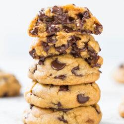 coconutoilchocchipcookies-37