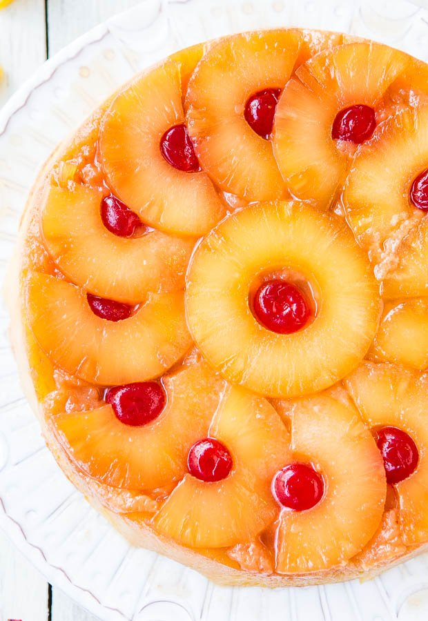 Easy Homemade Pineapple Upside Down Cake Recipe