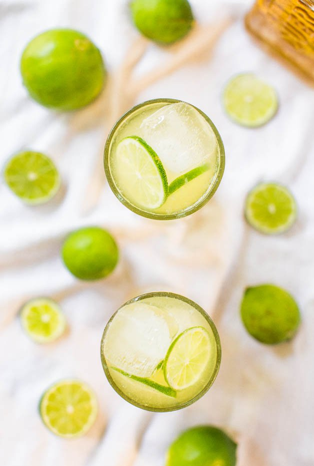 Simple Margarita Recipe with just 3 natural ingredients