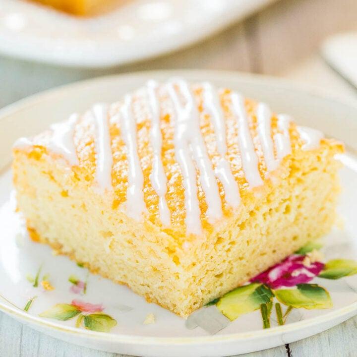 Sweet Cream Vanilla Coffee Cake