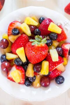 Vanilla Fruit Salad