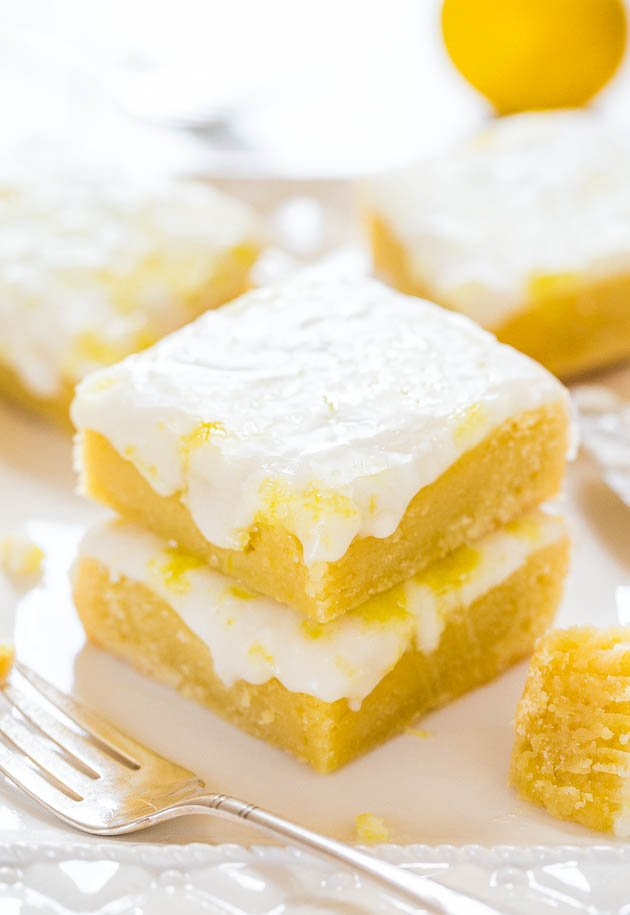 Two stacked Lemon Lemonies
