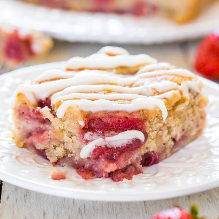 Soft and Fluffy Strawberry Banana Cake