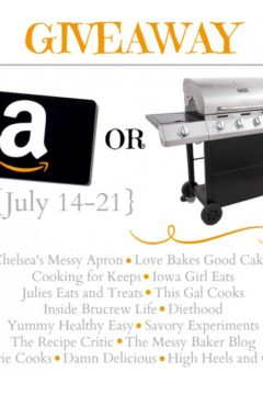 $300 Amazon or Char-Broil Classic Grill Giveaway