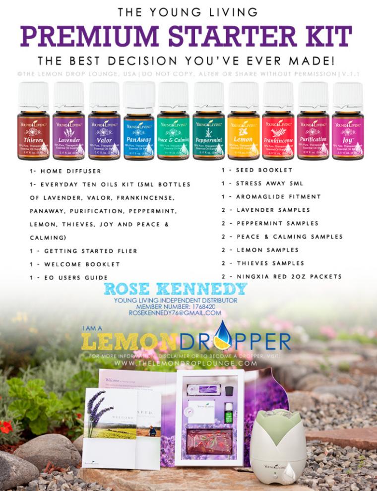 Starter Kit for essential oils