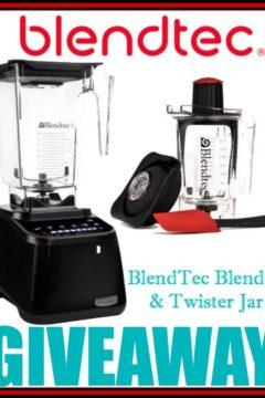 Blentec Blender and Twister Jar Giveaway – $629 Value!