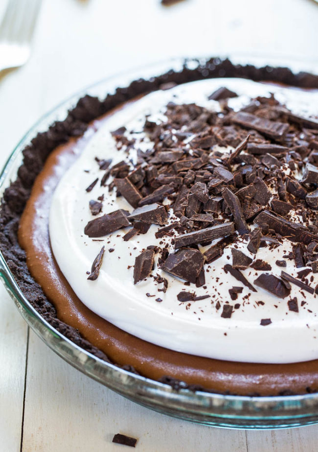 The BEST French Silk Pie