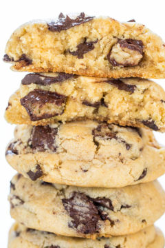 Mounds Bar Chocolate Chunk Cookies
