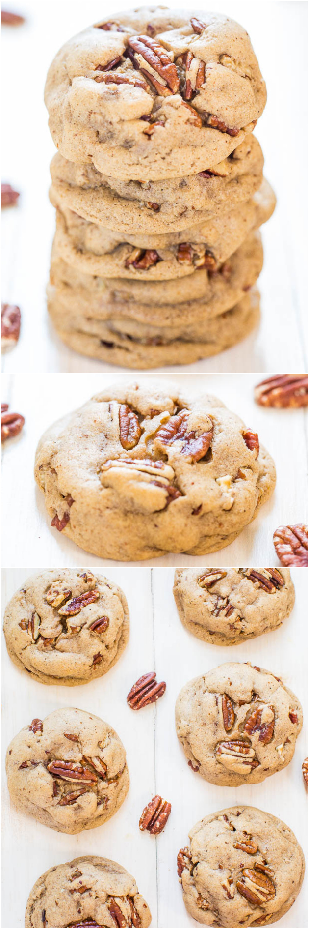print recipe buttery pecan pumpkin spice cookies the cookies are