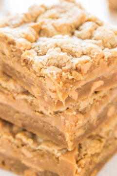 Peanut Butter Sandwich Cookie Bars