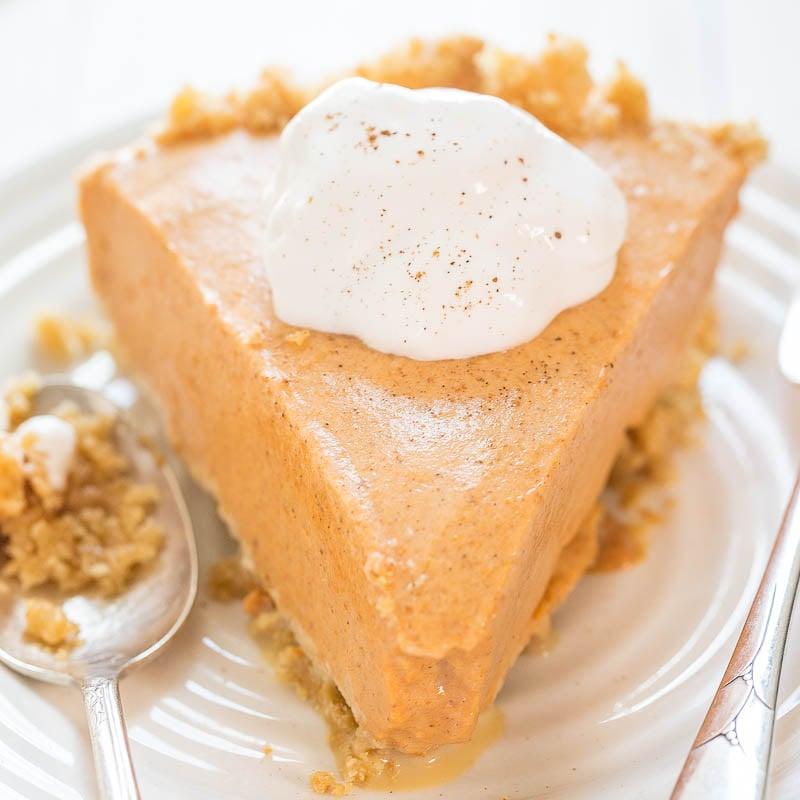 Pumpkin Ice Cream Roll Recipe: Pumpkin Ice Cream Pie
