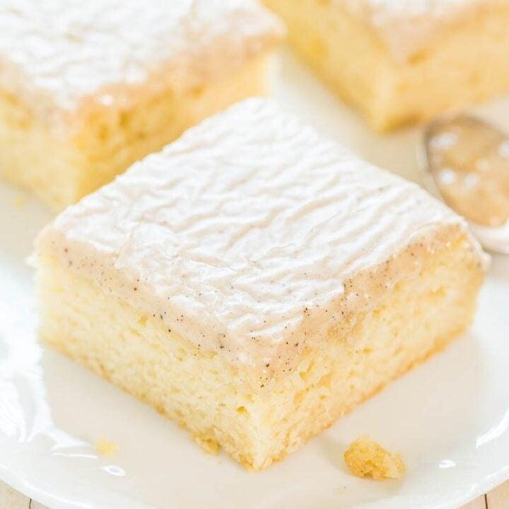 Vanilla Cake Recipe You'll Love