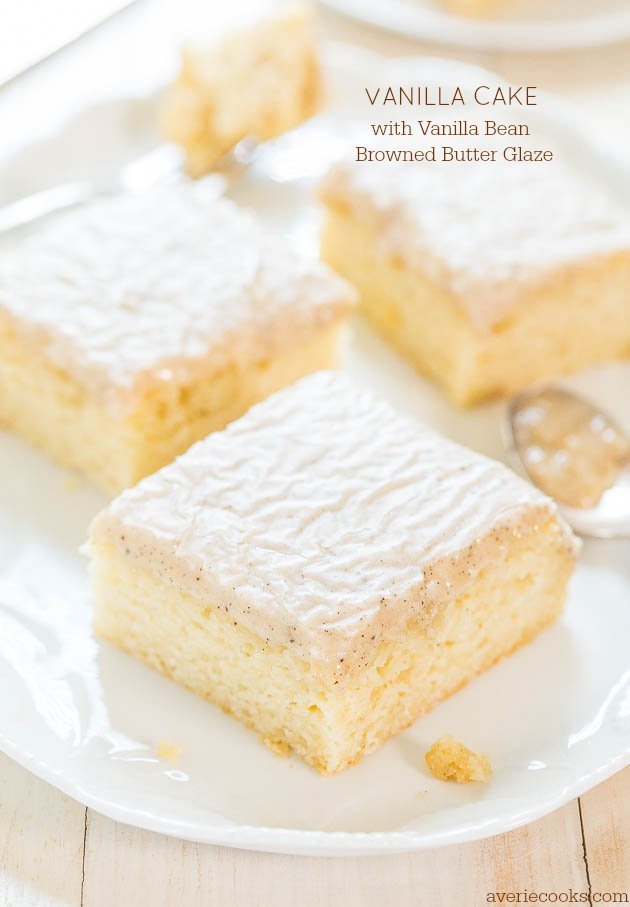 Easy No Butter Vanilla Cake Recipe