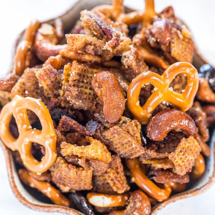 Maple Pumpkin Spice Crock-Pot Chex Mix
