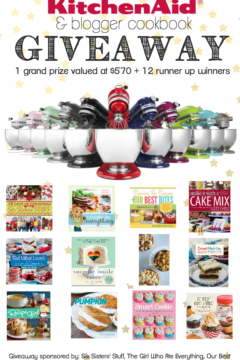 KitchenAid Stand Mixer and 12 Blogger Cookbooks Giveaway!