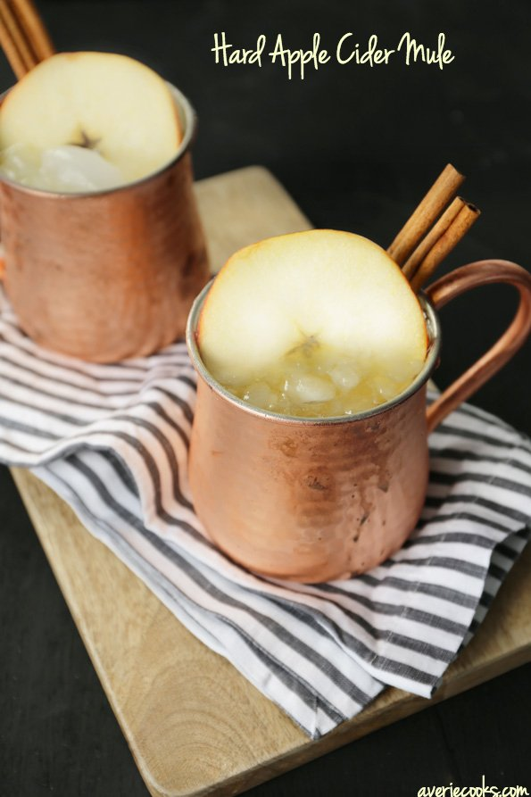 Hard Apple Cider Mule