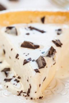 Easy Blender-Batter Self-Crusting Cheesecake