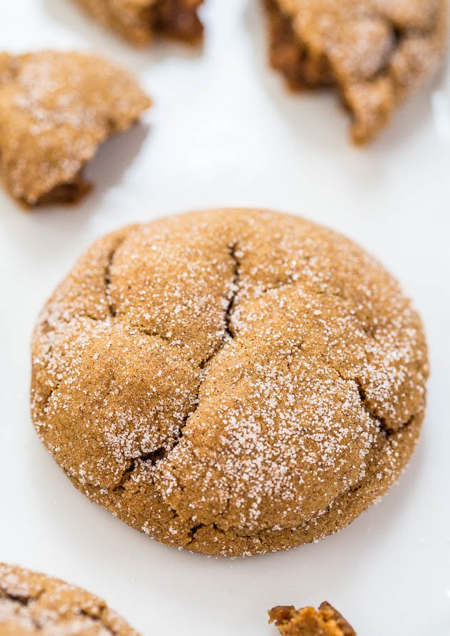 Soft Molasses Cookies Recipe So Easy Averie Cooks