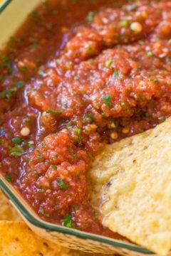 Easy Restaurant-Style Salsa