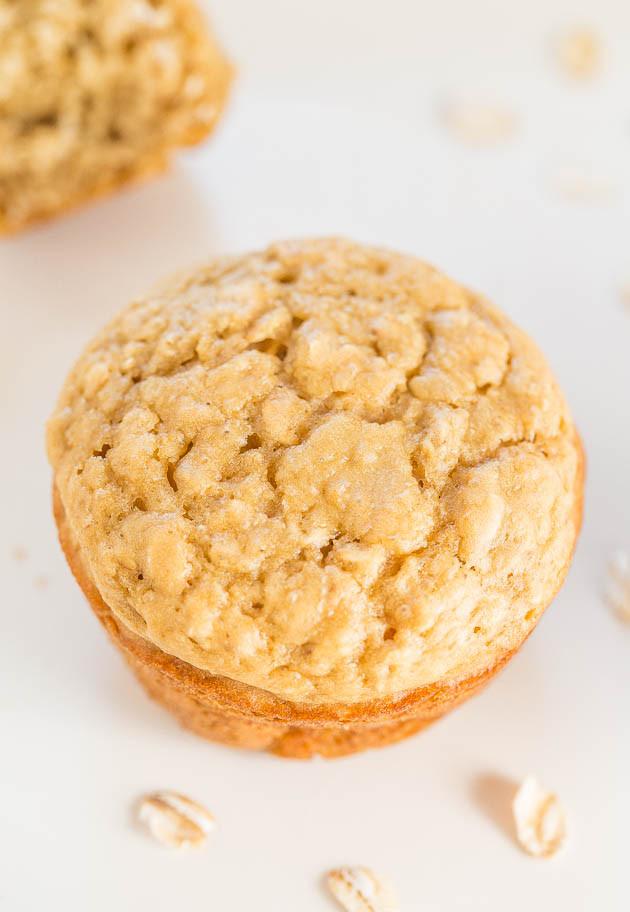 Skinny oatmeal brown sugar muffins averie cooks skinny oatmeal brown sugar muffins ccuart Gallery