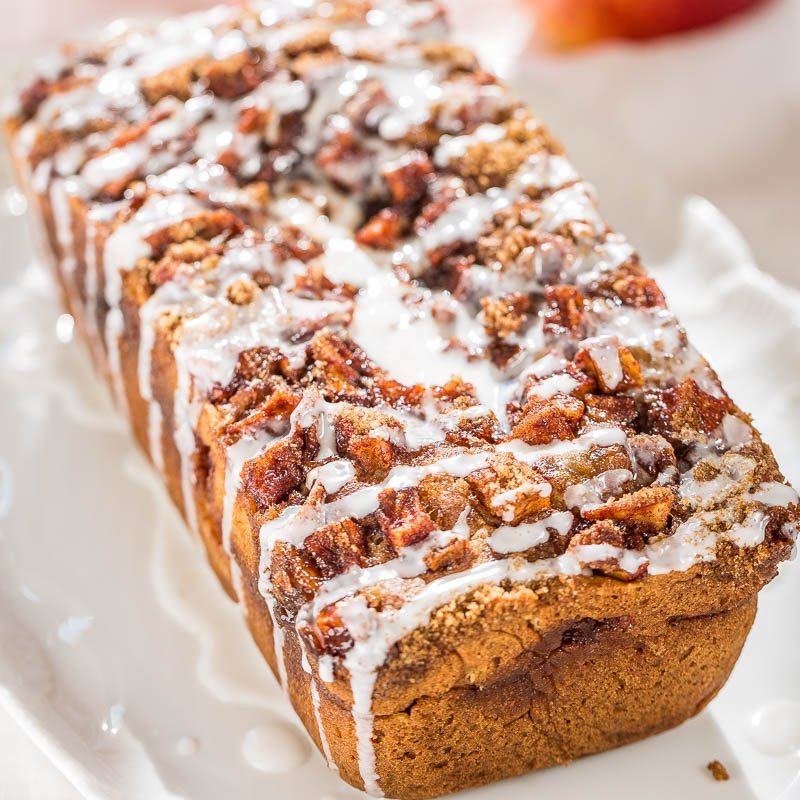 Apple Fritter Bread Averie Cooks
