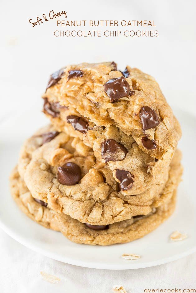 recipe: chewy peanut butter chocolate chunk cookies [2]