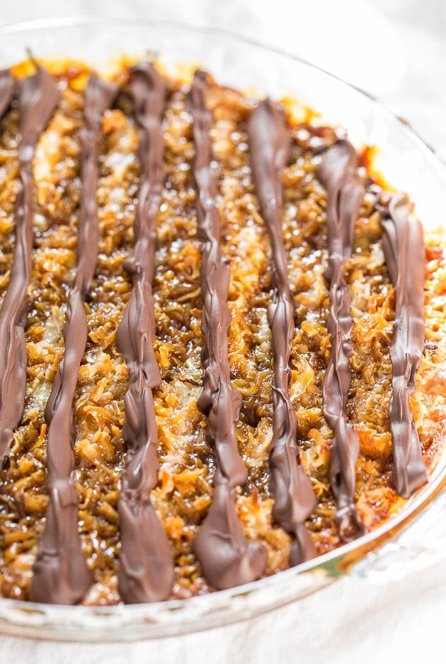 Samoas Cookie Pie - Move over Girl Scout Cookies! The flavor in this ...
