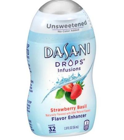 Screenshot of Dasani drops