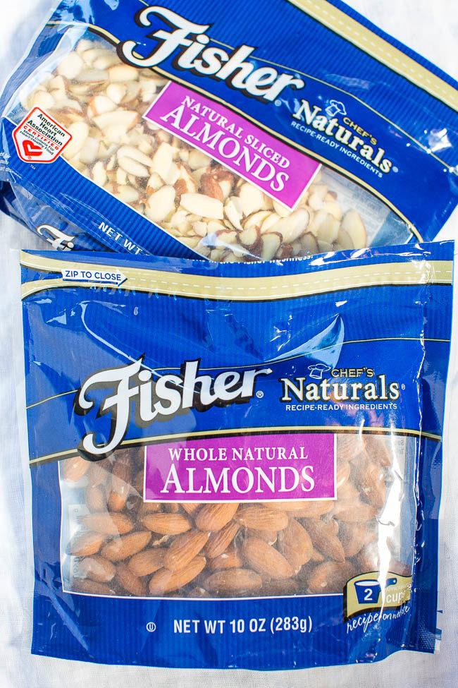 Fisher Almonds