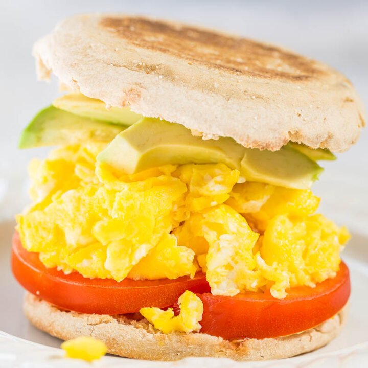 The Ultimate Egg Muffin Breakfast Sandwich