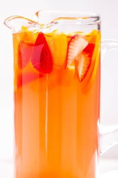 Tropical Strawberry Lemonade Party Punch
