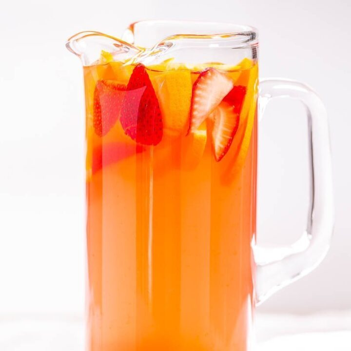 Tropical Alcoholic Party Punch
