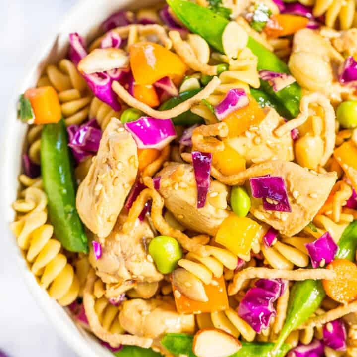 Chinese Chicken Pasta Salad