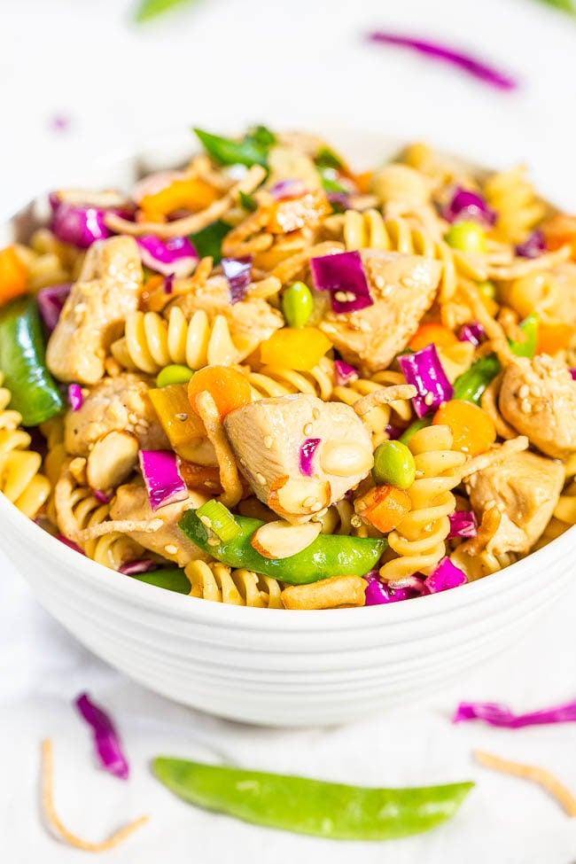 Edamame Chicken Dinner Salad Recipes — Dishmaps