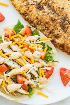 Easy 10-Minute Lemon-Butter Grouper Fish Tacos