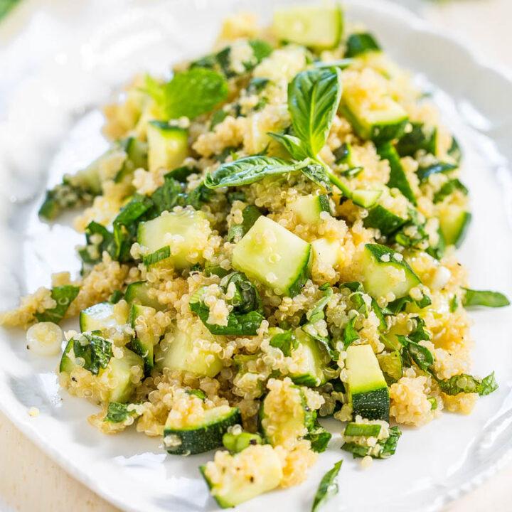 Favorite Greens Quinoa Salad