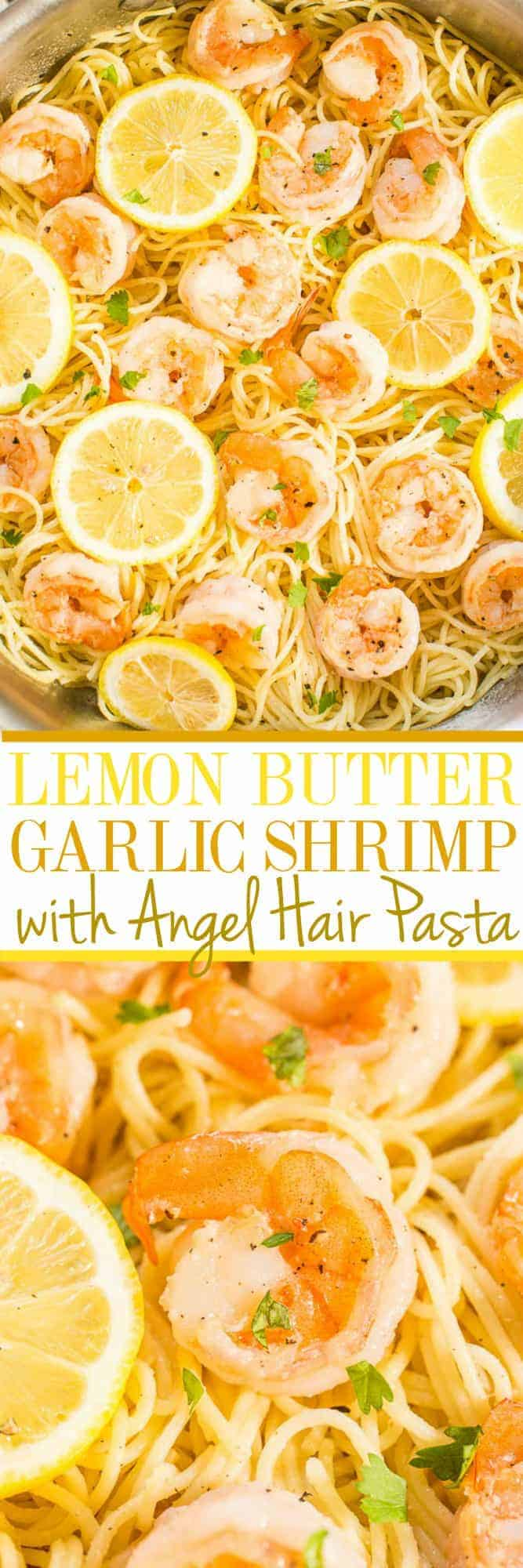 How to make garlic shrimp pasta in 15 minutes