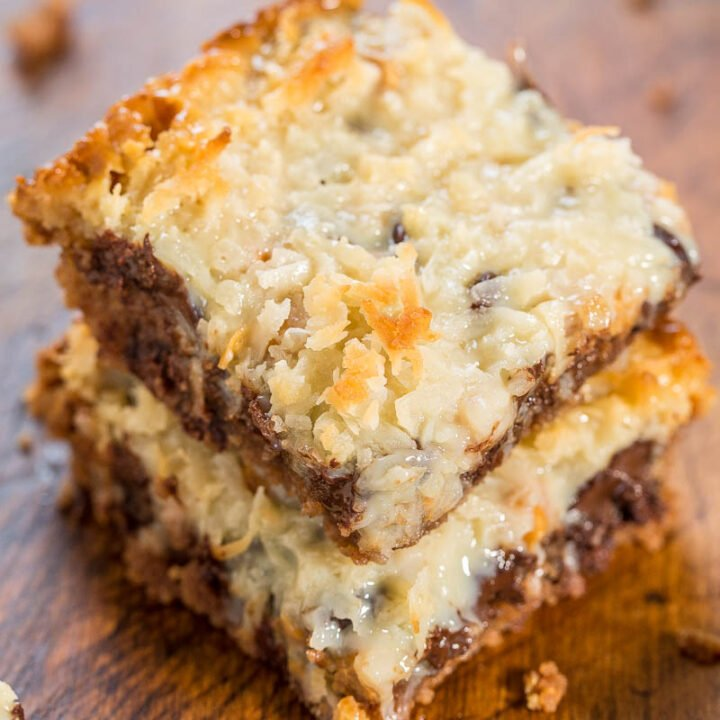 Chocolate Chip Cookie Magic Bars