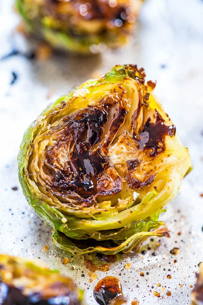Balsamic Brussels Sprout