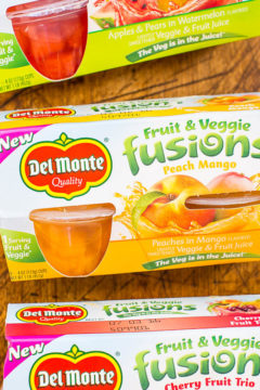 Del Monte Fusions + Sweepstakes