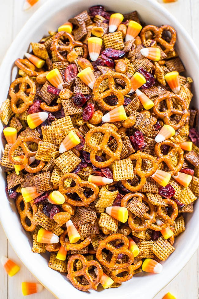 5-Minute Pumpkin Spice Chex Mix