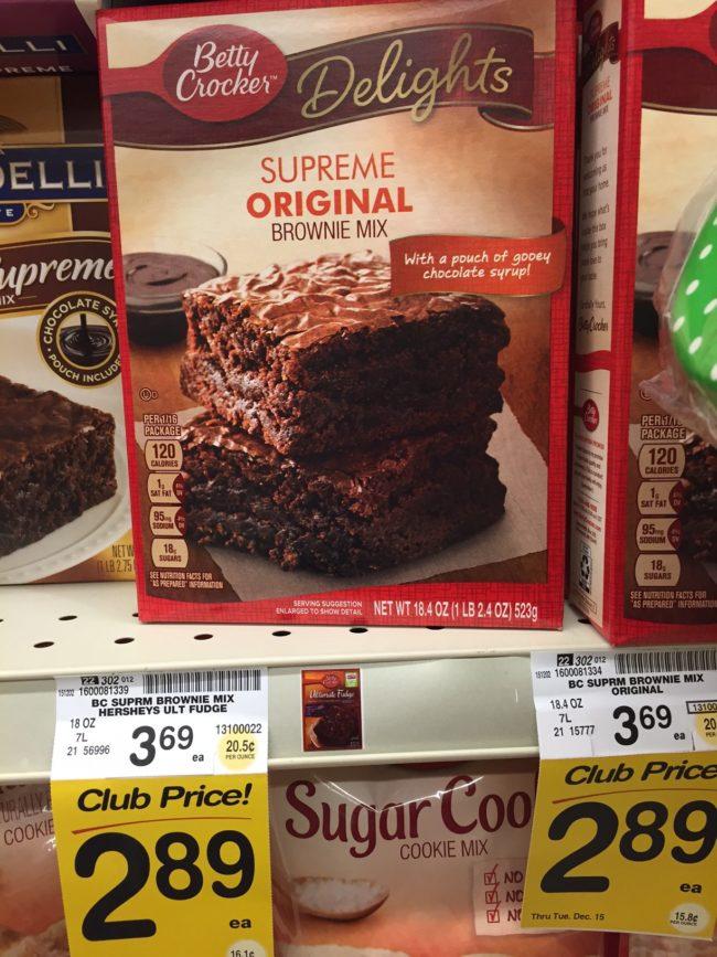 Betty Crocker Supreme Original Brownie Mix