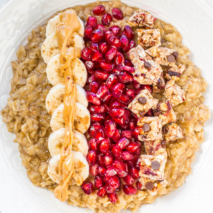 Loaded Oatmeal Breakfast Bowl