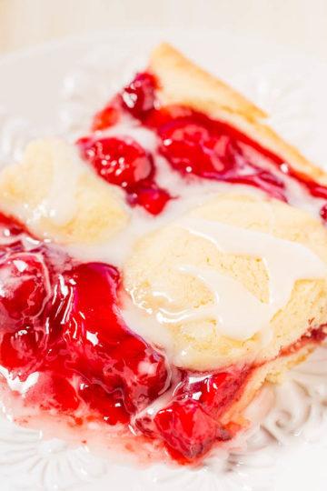 Glazed Cherry Pie Bars