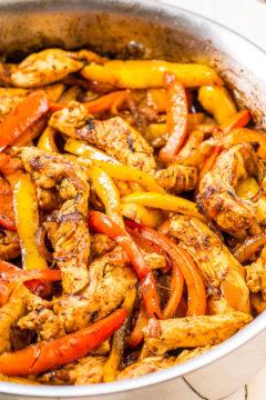 Easy 30-Minute Chicken Fajitas