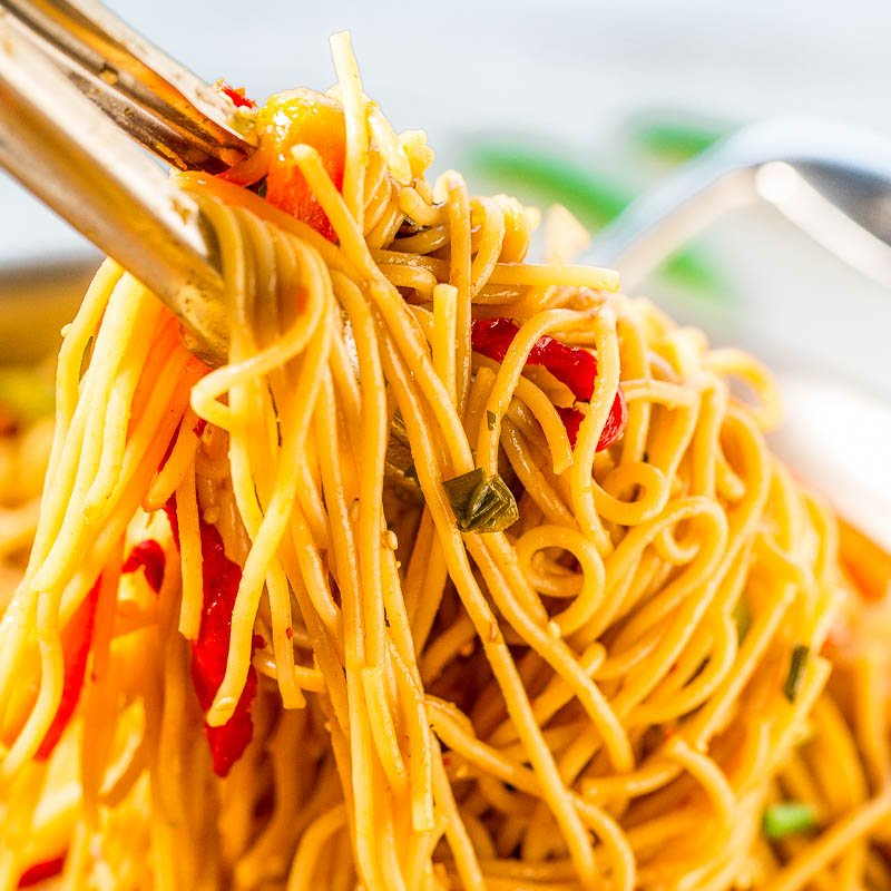 Easy Sweet and Sour Asian Noodles