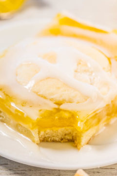 Glazed Lemon Pie Bars
