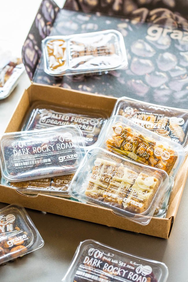 Graze Snacks Giveaway - Use promo code ACOOKS when you sign up for a subscription and you'll receive a free 4-snack sampler box when signing up to Graze!