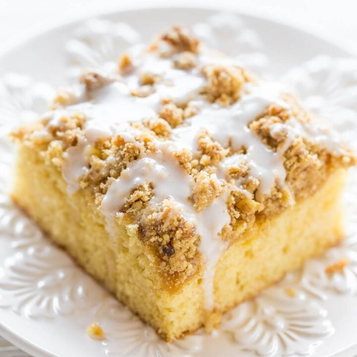 Buttery Coffee Crumb Cake