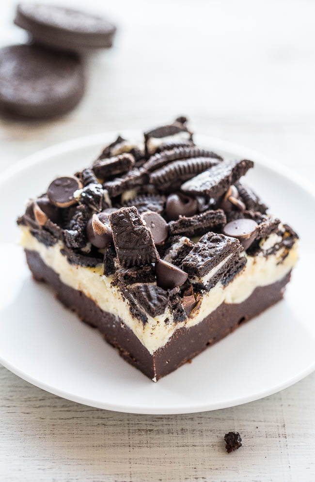 Oreo Cookie Brownie Recipe